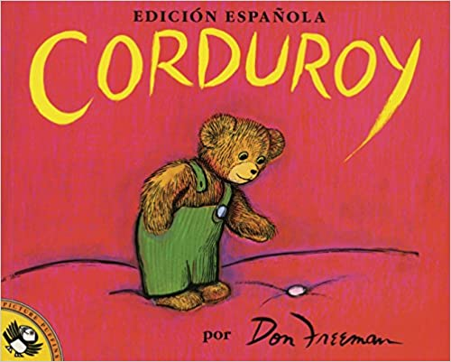 Book cover of Corduroy