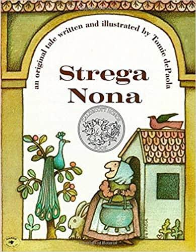Cover of Strega Nona, a children's picture book.