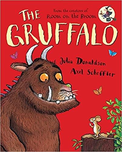 Cover of The Gruffalo, a children's picture book.