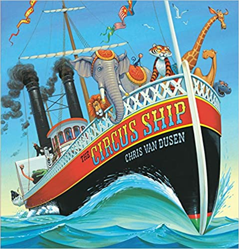 Cover of The Circus Ship a children's picture book