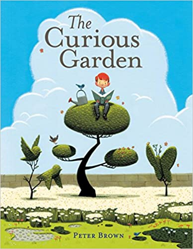 Cover of The Curious Garden, a children's picture book.