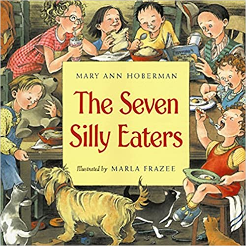 Book cover of The Seven Silly Eaters