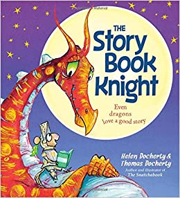 Book cover of The Story Book Knight