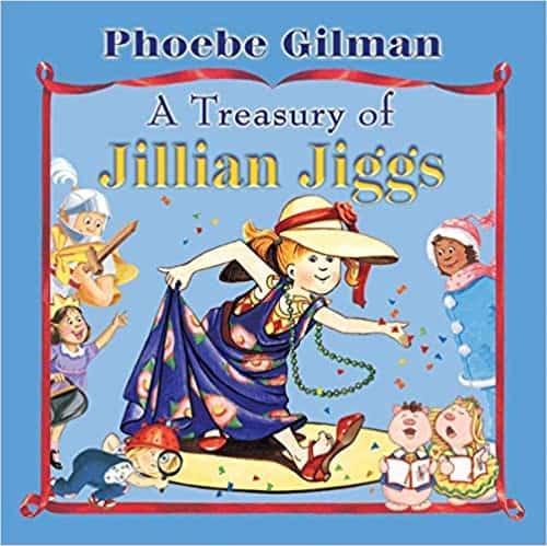 Book cover of Treasury of Jillian Jiggs