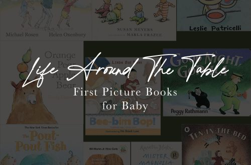 Featured image for blog, First Picture Books for Baby.